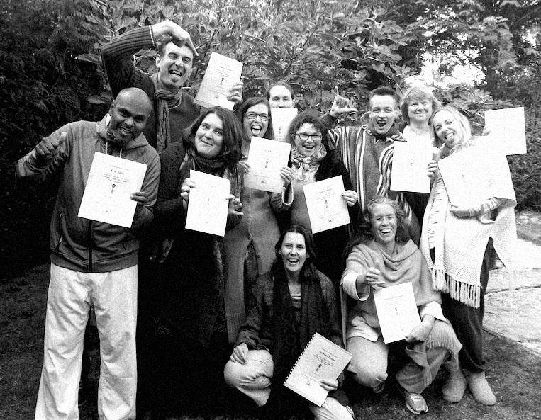 Reiki graduates-French