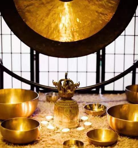 gong + bowls