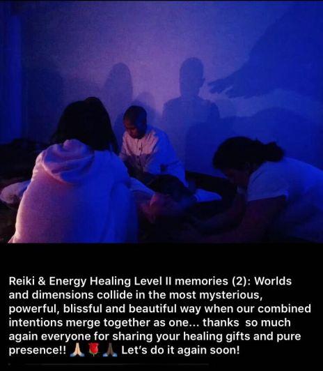 Reiki circle memory